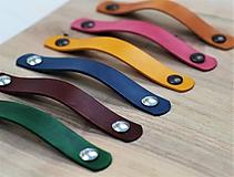 Nábytok - Kožené úchytky INDUSTRY N.3 /6 farieb/ - 10308960_