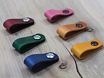Nábytok - Kožené úchytky INDUSTRY N.4 /6 farieb/ - 10309033_
