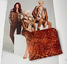 Taštičky - SAShEnka no. 200 - ako koža taštička - 10308443_
