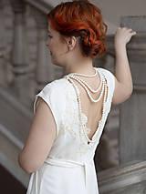 Náhrdelníky - perlový náhrdelník - shell perly (6mm perly dĺžka 41 cm) - 10309583_