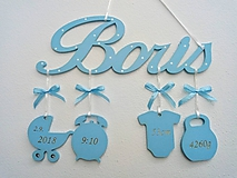 Detské doplnky - Darček pre novorodenca - 10309450_