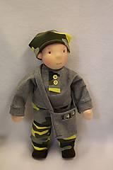 Hračky - Waldorfská panenka chlapeček - 10310500_