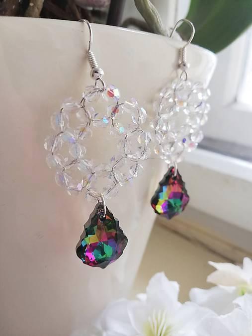 Swarovski baroque tropic,crystal AB