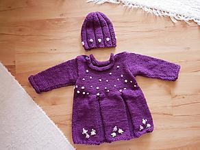 Detské oblečenie - dievčenský  setík - šatičky - 10308885_