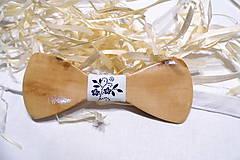 Doplnky - Folklórny drevený motýlik  - 10310165_