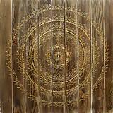 Obrazy - Mandala HARMÓNIA (drevená) 60 x 60 - 10310063_