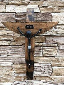 Dekorácie - kríž - 10309613_
