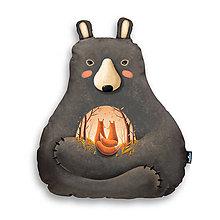 Úžitkový textil - Love is in the Bear - Large - 10309328_