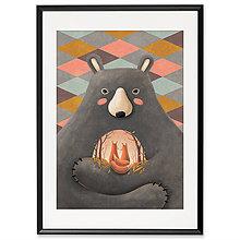 Grafika - Art-Print Love is in the Bear A4 - 10309428_