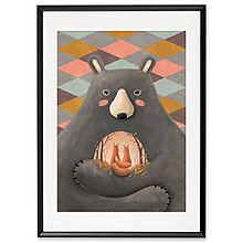 Grafika - Art-Print Love is in the Bear A4 - 10309428_