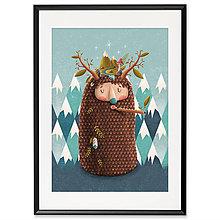 Grafika - Art-Print Yeti A4 - 10309443_