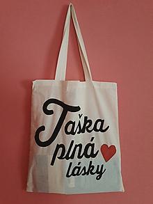 Nákupné tašky - Taška plná... - 10309210_