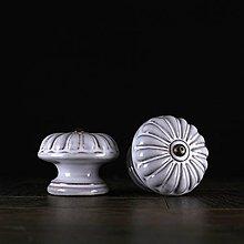 Nábytok - Úchytka - knopka lila vzor č. 5 velký - 10311091_