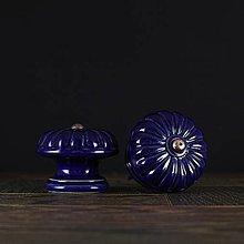 Nábytok - Úchytka - knopka kobalt- vzor č. 5 velký - 10311111_
