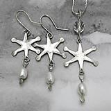 Sady šperkov - Snehová vločka - súprava - 10308863_
