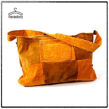 Kabelky - Kabela patchwork - 10310202_