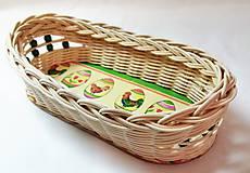 Košíky - Veľkonočný košíček - 10310639_