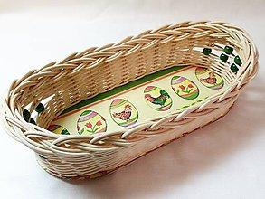 Košíky - Veľkonočný košíček - 10310633_