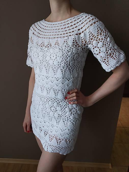 9cd2931886a4 Letné háčkované šaty   AnnaPl - SAShE.sk - Handmade Šaty