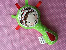 Hračky - Susugo hrkálka - pískatko dievčatko. - 10309290_
