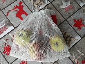 Nákupné tašky - Ekologické vrecúška. Sada 4 kusy. - 10309733_
