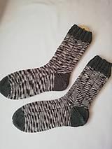 Obuv - Vlnené ponožky č. 42 - 10308013_