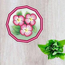 Pomôcky - Podšálky kvetové (prechod) - 10306994_