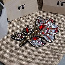 Odznaky/Brošne - Magnolie ... brož - 10312394_