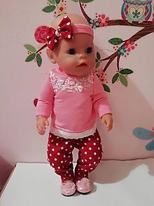 Hračky - Oblečenie pre bábiku Baby born v. 43 cm - 10315435_