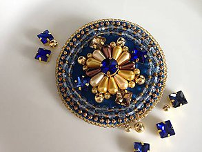 Odznaky/Brošne - Luxury brooch - 10312010_
