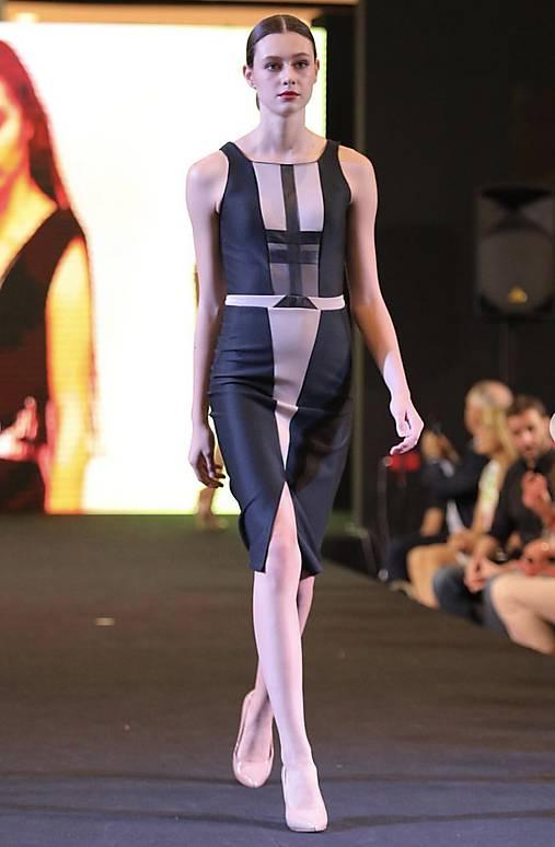 544a84a7e25c Art deco šaty skladom   vlasova.slavomira - SAShE.sk - Handmade Šaty