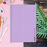 Papiernictvo - MADEBOOK - zošit A5 fialový pastel - 10315326_