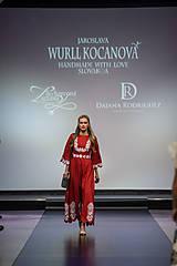 Ozdoby do vlasov - Jedinečná dvojradová čelenka so zlatými kvetmi a guličkami - Slavianka - 10314258_