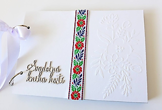 Papiernictvo - svadobná kniha hostí - 10311412_