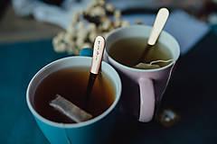 Pomôcky - Sada čajových lyžičiek s menami - 10313827_