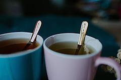 Pomôcky - Sada čajových lyžičiek s menami - 10313838_