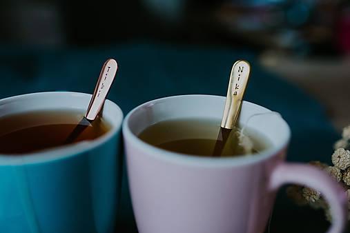 Sada čajových lyžičiek s menami