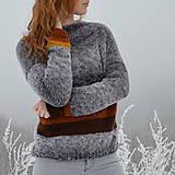Svetre/Pulóvre - dámsky sveter LAŇ - 10312189_