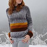 Svetre/Pulóvre - dámsky sveter LAŇ - 10312192_