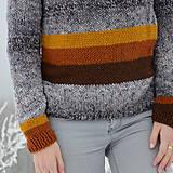Svetre/Pulóvre - dámsky sveter LAŇ - 10312193_