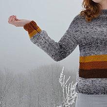 Svetre/Pulóvre - dámsky sveter LAŇ - 10312187_