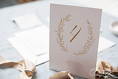 Papiernictvo - Svadobné oznámenie Medový škovránok - 10313860_