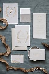 Papiernictvo - Svadobné oznámenie Medový škovránok - 10313882_
