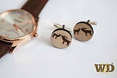 Šperky - Manžetové gombíky pre poľovníka - 10312305_