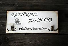 "Nábytok - Vešiak ""Babičkina kuchyňa"" - 10313635_"