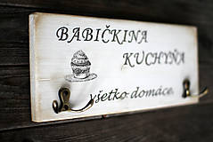 "Nábytok - Vešiak ""Babičkina kuchyňa"" - 10313637_"