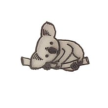 Odznaky/Brošne - Koala silver/black - 10314776_