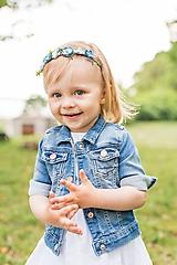 Ozdoby do vlasov - Krehká čelenka pre malé princezné - 10312529_