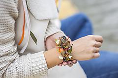 Náramky - Jesenný náramok z jesenného setu