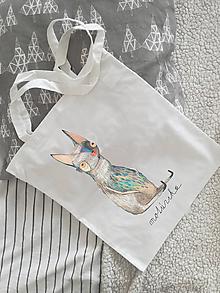 Nákupné tašky - Plátená taška- tvorček - 10314478_